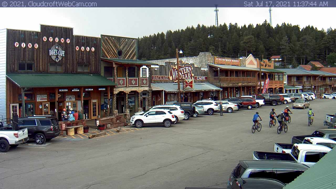 USA Cloudcroft Old Burro Avenue live camera